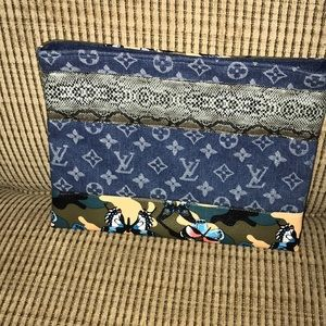 Louis Vuitton repurposed clutch bag